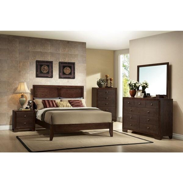 Madison Espresso 4-piece Bedroom Set. Opens flyout.