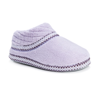 Muk Luks Women's Rita Micro Chenille Full-foot Slippers