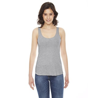 American Apparel Women's Grey Triblend Racerback Athletic Tank