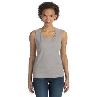 Women's Heather Combed Ringspun Jersey Tank