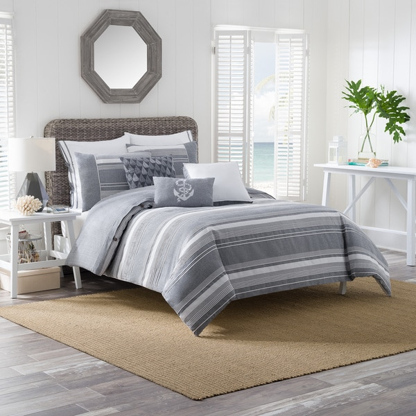 Brielle Harbor Cotton Duvet Cover Set