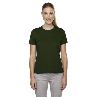 Pace Women's Performance Pique Crew Neck Forest Green 630 Shirt