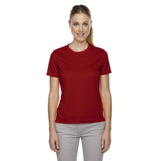 Pace Women's Performance Pique Crew Neck Classic Red 850 Shirt