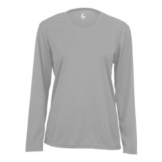 Performance Women's Long-Sleeve Silver Shirt