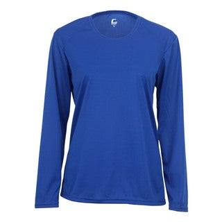 Performance Women's Long-Sleeve Royal Shirt