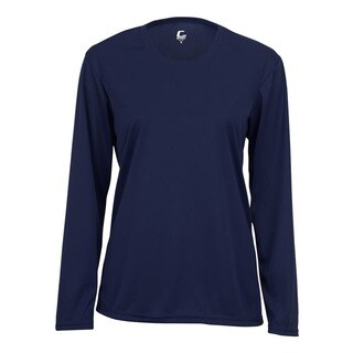Performance Women's Long-Sleeve Navy Shirt