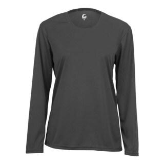 Performance Women's Long-Sleeve Graphite Shirt
