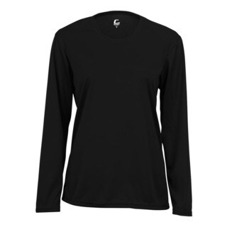 Performance Women's Long-Sleeve Black Shirt