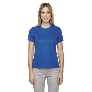 Pace Women's Performance Pique Crew Neck True Royal 438 Shirt