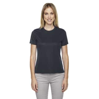 Pace Women's Performance Pique Crew Neck Carbon 456 Shirt|https://ak1.ostkcdn.com/images/products/12271795/P19111022.jpg?impolicy=medium