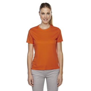 Pace Women's Performance Pique Crew Neck Campus Orng 470 Shirt