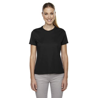 Pace Women's Performance Pique Crew Neck Black 703 Shirt