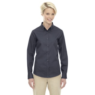 Operate Women's Carbon 456 Long-sleeved Twill Dress Shirt