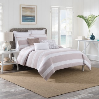 Brielle Montauk Cotton Duvet Cover Set