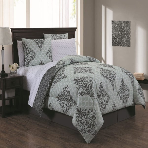 Avondale Manor Mari 8-piece Bed in a Bag with Sheet Set