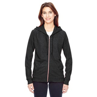 Eco-Mock Women's Twist Eco Black Adian Hoodie