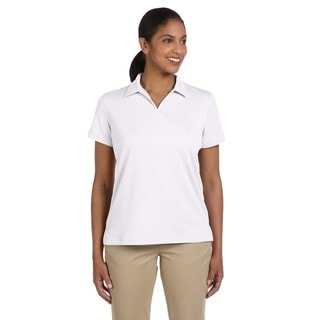 Double Mesh Women's Sport White Shirt
