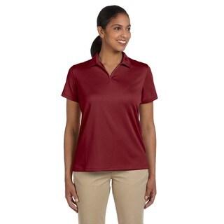 Double Mesh Women's Sport Maroon Shirt
