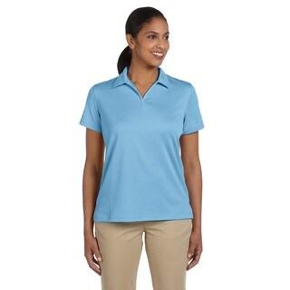 Double Mesh Women's Sport Light Blue Shirt