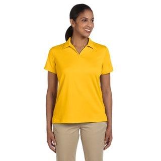 Double Mesh Women's Sport Gold Shirt