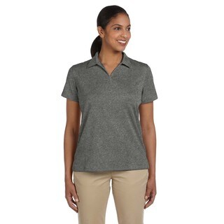 Double Mesh Women's Sport Charcoal Shirt