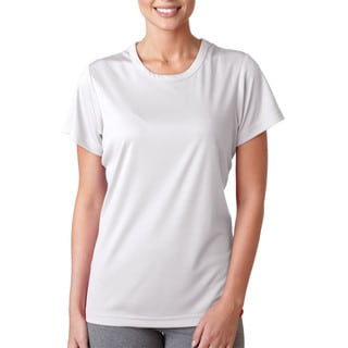 Cool and Dry Women's Sport Performance Interlock White Shirt
