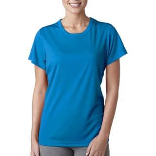 Cool and Dry Women's Sport Performance Interlock Sapphire Shirt|https://ak1.ostkcdn.com/images/products/12271900/P19111113.jpg?impolicy=medium