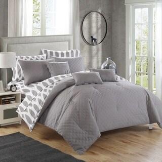 Copper Grove Coldbrook Grey Diamond 10-piece Bed in a Bag