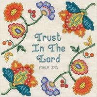Trust Counted Cross Stitch Kit
