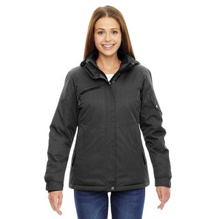 Rivet Women's Carbon 456 Textured Twill Insulated Jacket