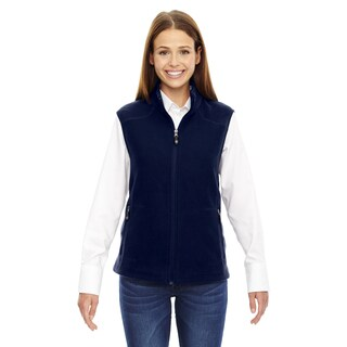 Voyage Women's 849 Classic Navy Fleece Vest (More options available)