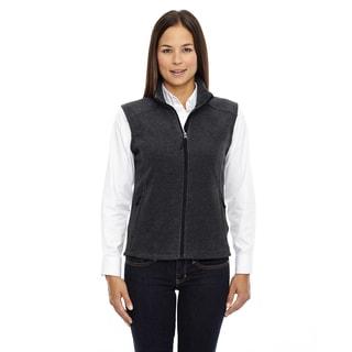 Journey Women's 745 Heather Charcoal Fleece Vest