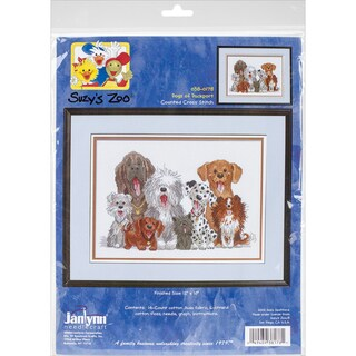 Suzy's Zoo Dogs Of Duckport Counted Cross Stitch Kit