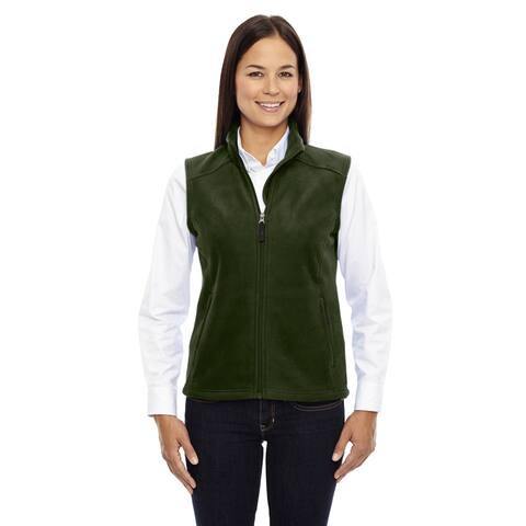 Journey Women's Forest Green Fleece Vest