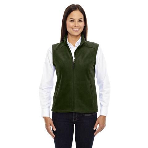 Journey Women's Forest Green Fleece Vest
