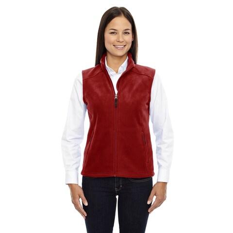 Journey Women's Classic Red 850 Fleece Vest