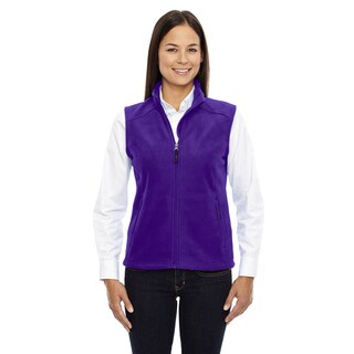 Journey Women's 427 Campus Purple Fleece Vest (More options available)
