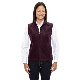 Journey Women's Burgundy Polyester Sleeveless Fleece Vest (Option: Xs)
