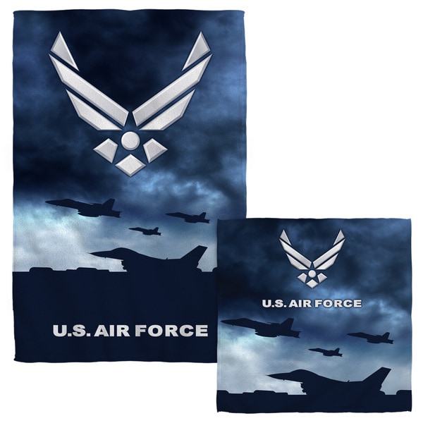 Air Force/Take Off Face/Hand Towel Combo