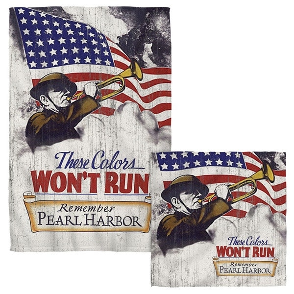 ARMY/WON'T RUN Face/Hand Towel Combo