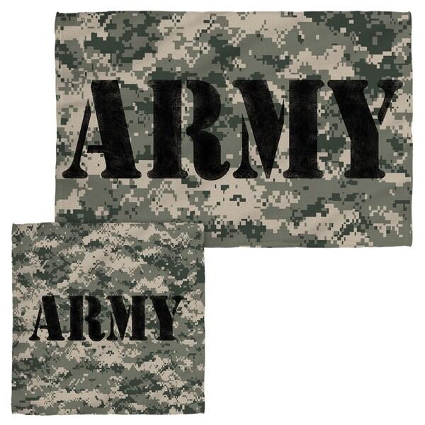 Army/Camo Face/Hand Towel Combo