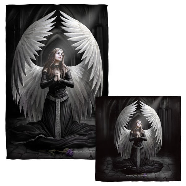 ANNE STOKES/PRAYER FOR THE FALLEN Face/Hand Towel Combo
