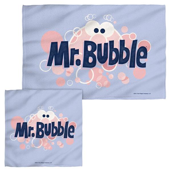 MR BUBBLE/EYE LOGO Face/Hand Towel Combo