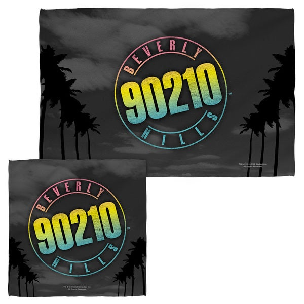 BEVERLY HILLS 90210/PALMS LOGO Face/Hand Towel Combo
