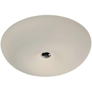 Alternating Current Swirled LED Large Flush