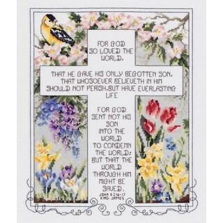 John 3:16-17 Counted Cross Stitch Kit
