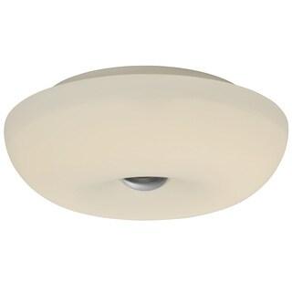 Alternating Current Swirled 2-Light Small Flush