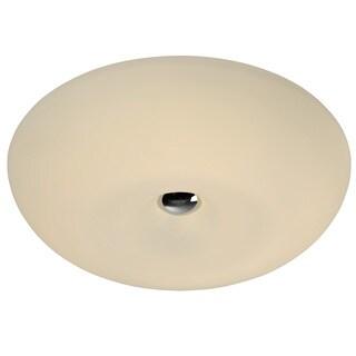 Alternating Current Swirled 2-Light Medium Flush