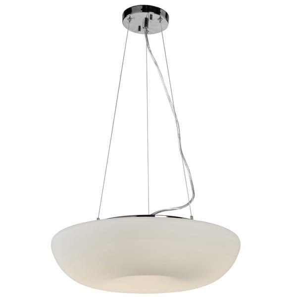 Varaluz Swirled LED Large Pendant