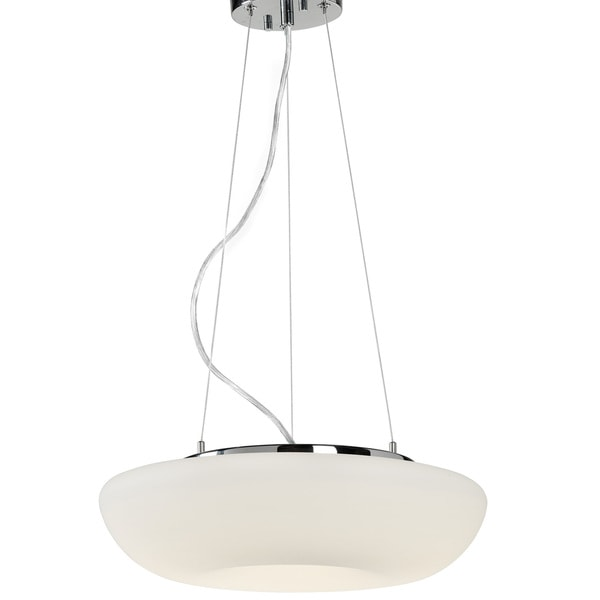 Varaluz Swirled LED Medium Pendant